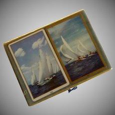Sailing Ship Deck of Cards Vintage