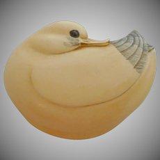 Small Trinket Box Duck