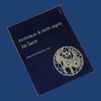 Birthdays & Birth Signs in Lace Book Bridget Cook