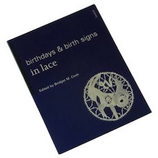 Birthdays & Birth Signs in Lace Book Bridget Cook