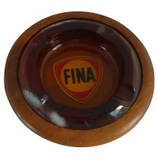 Duk – It Cigar Ashtray with Walnut Base