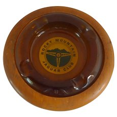 Rocky Mountain Jaguar Club Cigar Ashtray / Base