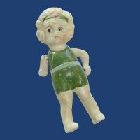 Porcelain 1930 Made in Japan Kewpie Doll