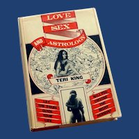 Love Sex and Astrology Book 1973 Teri King