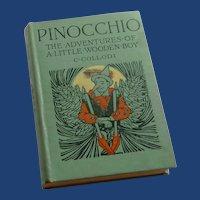 Pinocchio 1923 Hard Cover Book