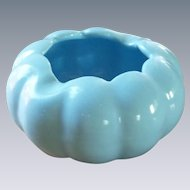 Small Aqua Turquoise Blue Ashtray