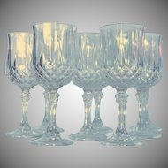 Longchamp Cristal D'Arques Durand Wine Glass –Set of 8