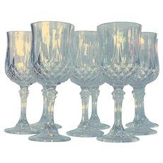 Longchamp Cristal D'Arques Durand Wine Glass –Set of 8