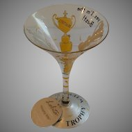 Lolita Trophy Wife  Martini Glass