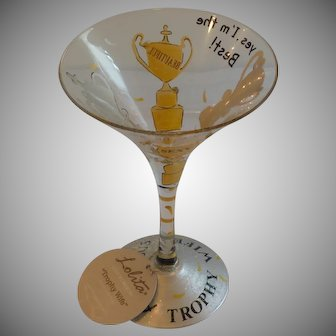 Lolita Trophy Wife  Martini Glass