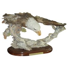 Mill Creek Studios Signed Limited Edition of Sculptured Eagle