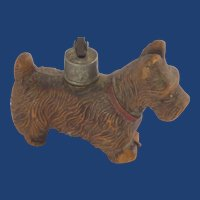 Syrocco Wood Scotty Dog Lighter