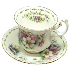 Royal Albert October Cup and Saucer