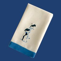 Cute Dog and Cat Hand Towel