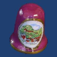 Kufstein Plum Ceramic Thimble