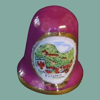 Kufstein Plum Ceramic Thimble