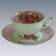 Vintage LM Royal Halsey Bone China Tea Cup