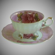 Vintage LM Royal Halsey Bone China Tea Cup
