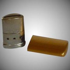 Brass Tone Breath-O-Lator Mini Breath Freshening Device
