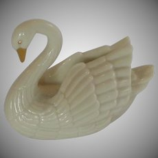 Lenox China White Swan Place Card Holder