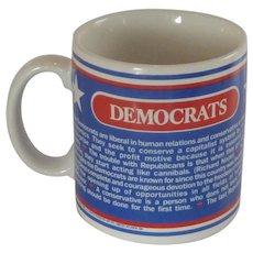 Democrats Convention Prayer Pottery Coffee Mug