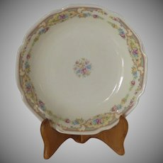 Shallow Early 1900's Floral China Bowls