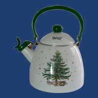 Nikko Happy Holidays Hot Water Teapot Kettle