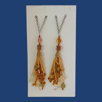 Harvest Gold Accent Charms for Home Decoration
