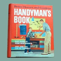 Like New Better Homes and Gardens handyman's Book 1974