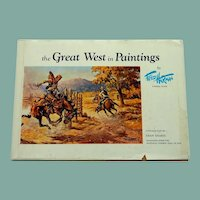 The Great West in Painting by Fred Harmon Book