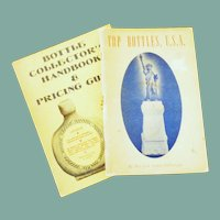 Two Bottle Collector's Books
