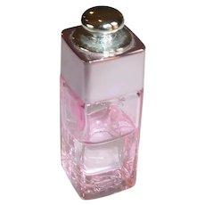 Pink Christine Dior Addict 2 Miniature Perfume Bottle