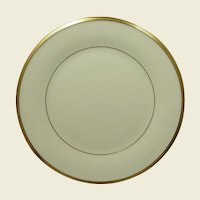 Lenox China Pattern Eternal Gold Trim Salad Plate