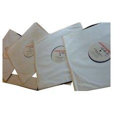 Pop Music Countdown USA 4 Vinyl Records  8/22/67
