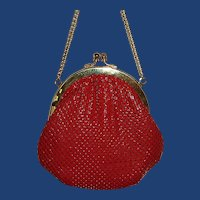 Little Slinky Red Evening Purse Bag