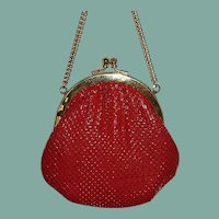 Little Slinky Red Evening Purse Bag