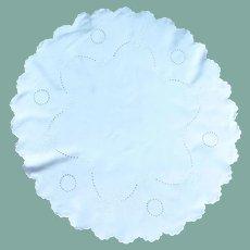 White Small Cotton Table Cloth