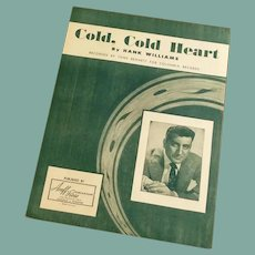 Hank Williams Cold, Cold Heart Recorded Tony Bennett