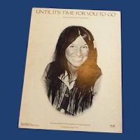 Until It's Time For You To Go Buffy Sainte-Marie Sheet Music
