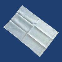 Damask Floral Design White Hand Towel