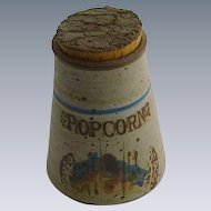 Pottery  Pop Corn Kernel Container