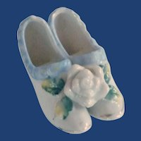 Japan Porcelain Pair of China Shoes