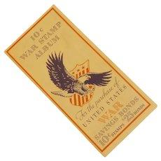 1942 World War II 10 Cent Stamp Album