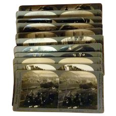 1900's Group of 11 Stereo cards of Norway