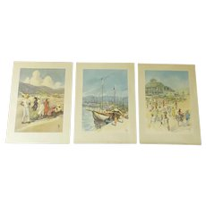 1950's Eelco Leegstra Caribbean Prints Donald Art Company