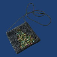 South Coast Beaded Christmas Tree Purse/Bag