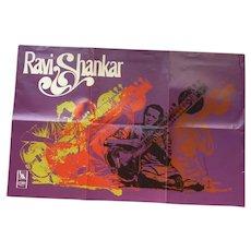 Ravi Shankar 1967 Poster
