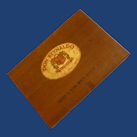 Vintage Wood Cigar Box Don Reynaldo