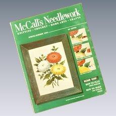 McCall's Needlework 1954 Spring-Summer Magazine