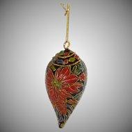 Cloisonné Sea Shell  Christmas Ornament